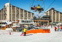 Winter Ski Season / Winter Hotels, places, landscape and more.
