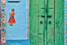 Colour / colours of India and Morocco