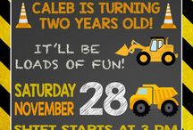 Cars / Construction Party Ideas