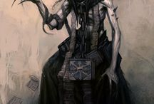 casual dark fantasy art