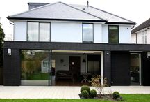 Project: Dalkeith / A contemporary home extension and renovation using slim framed sliding doors and modern windows