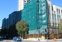 Commercial / Scaffold w/tarping