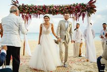 Wedding Ceremonies at Grand Hyatt Playa del Carmen Resort / Wedding ceremonies as unique and beautiful as you are! A destination wedding in Playa del Carmen will be the perfect backdrop for your special day!