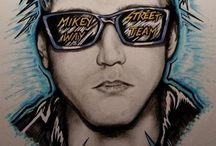 Mikey Way Fan Art