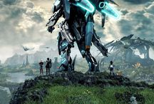 Xenoblade Chronicles X (OST ; concept art and guides)
