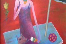 Benkő Viktor festményei