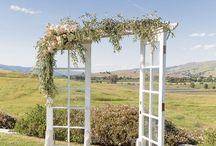 Doors Wedding Backdrop