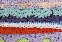 crochet stitches and borders   / by LeeAnn Bankes