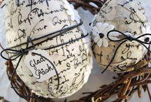 Wielkanoc / święta z jajkiem