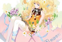 SeeU シユ / She's Korean Vocaloid. :3