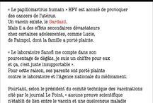 A SAVOIR!!! / Santé,scandale,pollution,alimentation,information,médecine etc...
