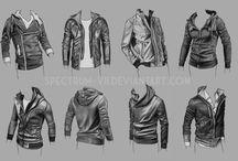 Drawingteknik - kläder