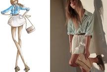 Must.Sketch / Fashion illustration inspiration / by Daphney