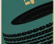 Grafika / Kolekce historických pneumatikářských plakátů, které stojí za pozornost.