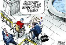 Cartoons  conservative / by Paula Roebuck