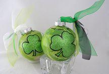 Irish Clover Ornament