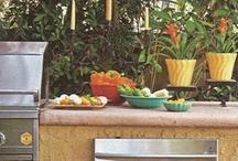 Outdoor kitchen/alfresco dining