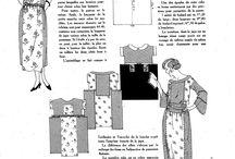 ~ Vintage Dressmaking Patterns ~ / memories from a golden era....
