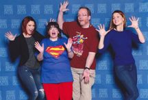C2E2 2016 / Stuff we saw and people we met at the 7th annual C2E2 convention in Chicago -- March 18-19, 2016. (We opted out of Sunday.)