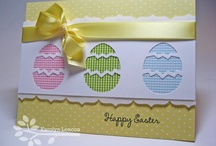Cards - Easter / Ideas for handmade Easter cards.