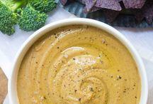Easy Healthy Food Dips / Vege