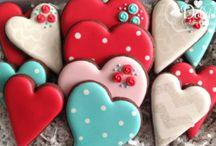 San Valentino/Festa della Mamma biscotti dà decorare