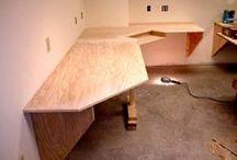 Woodworking - Desks