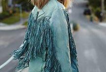 Fringe Fashion / Fringe-spiration from cowgirls to festival fashion.