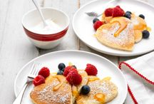 Pancakes / Creative ways to transform Breakfast time into an enjoyable experience for the entire family.