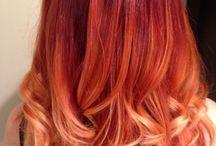 orange ✿ red