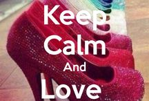 keep calm, and...