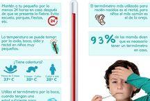 Enfermedades / Tablero de como reconocer los Sintomas de las enfermedades - Doctors Hospital