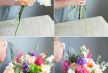 All Things Flower / How to take care of Flowers and make pretty Bouquets.
