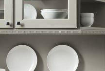 Cabinet Moldings & Embellishments / Kitchen cabinet moldings and embellishments are a great way to add the finishing touch to your custom kitchen design. #prescottkitchens