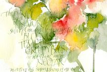Beautiful poems / Typesetting illustration