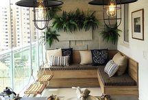 Balcony - Terraços/varandas