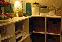 walk-in pantry inspiration / by Jaime Roszak