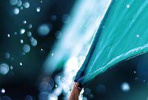 La pioggia,i lampioni