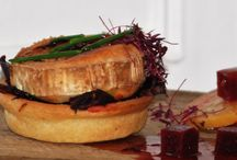Dinner Party - Goats Cheese and Beetroot Tart