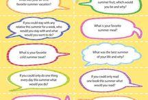 Conversation Starters / by Junkin' J