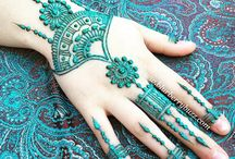 Henna - Coloured