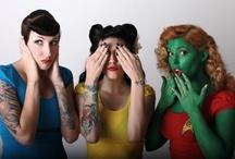 Hot Nerd Girls / Hot Nerd & Geek Girls