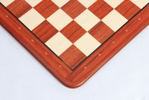 PRINTED MDF CHESS BOARDS - chessbazaar.com / The printed chess boards are made out of MDF (Medium-density fibreboard). It is an engineered wood product which is made by breaking down hardwood or softwood residual into wood fibres. MDF does not have knots so they are more uniform than natural wood.
