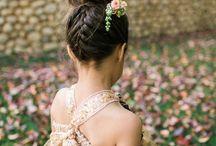 Flower girls hairstyles
