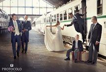 PADRINOS. Colección PROTOCOLO / Trajes y chaqués para #padrinos #boda. Elegancia para llevar a la #novia.