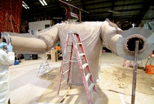 The building of a prop: / Watch as master artists build the props for Mardi Gras floats!