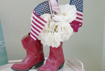 Fourth of July, Flag Day & Memorial Day Ideas / by Sheryl Turner