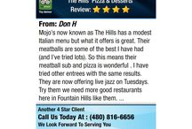 Fountain Hills Favorites / The Neighborhood Gathering Place for Friends and Food