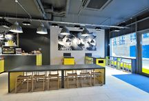 Mangiare - Spitalfields / This was the complete fit-out of a basic 'shell & core' retail space in Spitalfields, London E1.