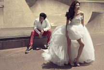 High-fashion Prewedding Photography / Why blend in when you can stand out? Take a cue from the stars in the magazine spread and let yourself shine with our special high-fashion photography treatment! From styling to sets to directing of poses and photography tricks, we will have you look uber-glamorous in no time!
